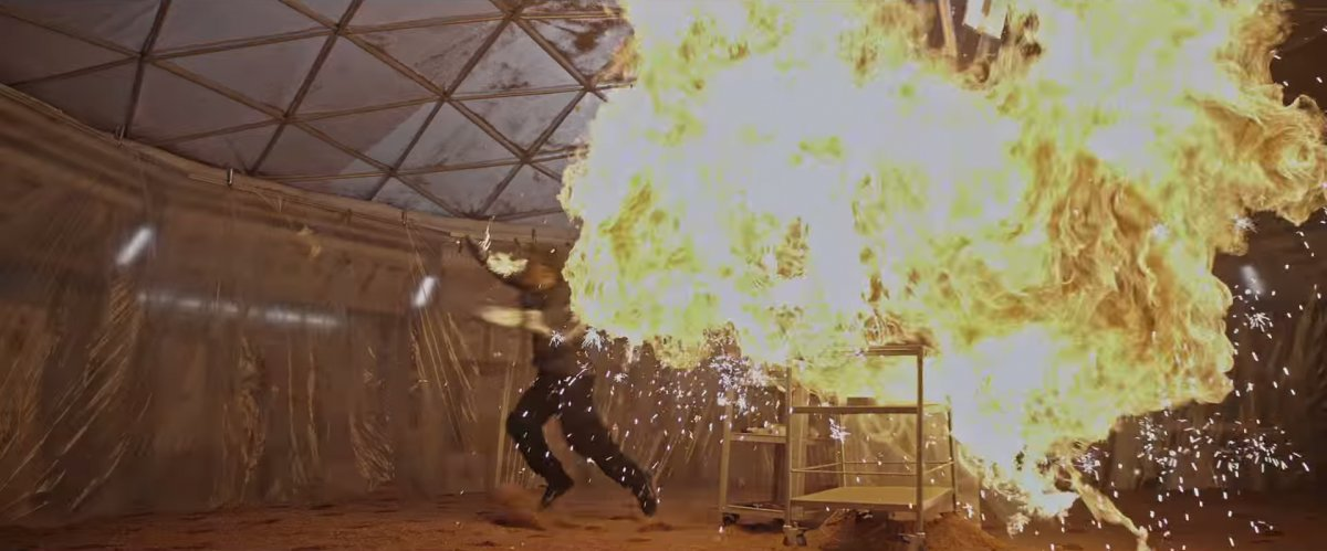 The Martian Movie - Explosion - Twentieth Century Fox/YouTube