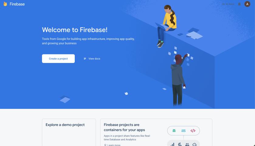 Firebase Create Project